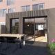 verbouwing uitbouw modern ix architects Tudor aluminium schuifpui kozijn zwart meubelmaatwerk keuken woonkamer open haard uitbouw Delft bouwbegeleider bouwbegeleiding