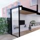 verbouwing uitbouw modern ix architects Tudor aluminium schuifpui kozijn zwart meubelmaatwerk keuken woonkamer open haard uitbouw heemstede bouwbegeleider bouwbegeleiding